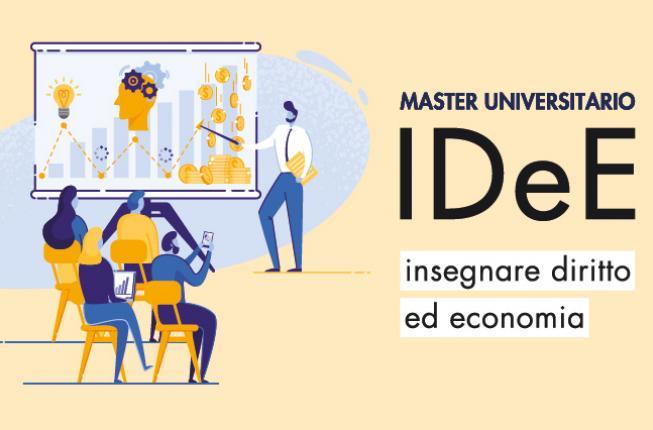 Collegamento a Master IDeE – Insegnare Diritto ed Economia 2021-2022