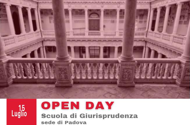 Collegamento a  Open Day Scuola di Giurisprudenza - Padova